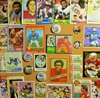 1962/70's+ NFL Lot**Barry Sanders/Reggie White/Joe Namath/Montana/Lilly/Schmidt+