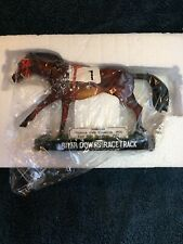 River Downs Sea Biscuit Bobble head - New In Box-