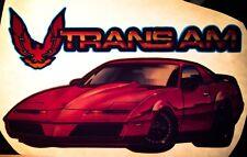 80s Pontiac Trans Am Knight Rider Formula Daytona 500 Pace VTG t-shirt iron-on