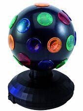 TIP MINI LUZ BOLA Lámpara de mesa multicolor MOTOR NEGRO 1 ud. 15w E14 230v
