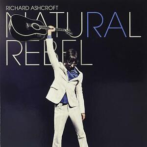 RICHARD ASHCROFT – NATURAL REBEL LIMITED ORANGE VINYL LP (NEW/SEALED)