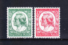 Germany Deutsches Reich 1934 Mi. Nr. 554-555 175th Anniv. Schiller's Birth MNH