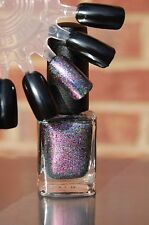 Chameleon Chrome Flakes/Flakie Holographic Spectraflair Topcoat Polish 13.3 ml.