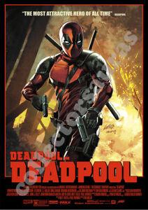 Marvel Studios Deadpool 02 - Blockbuster Movie advert - A4 PRINT + FREE POSTAGE