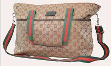 Large Luxury Baby Changing Bag Diaper Tote Nappy Bag Multifunctional Mommy Bag S
