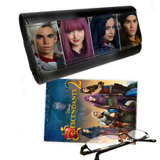 Disney Descendants 2 Glasses Pictaletather Case & Lens Cleaning Cloth