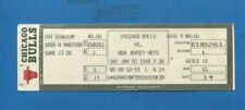 JAN 7th, 1988 CHICAGO BULLS VS. NETS FULL TICKET (MICHAEL JORDAN TRIPLE DOUBLE)