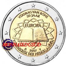 2 Euro Commémorative Pays-Bas 2007 - Traité de Rome