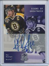1999-00 Wayne Gretzky Hockey Signs of Greatness AUTO Card Ray Bourque BRUINS