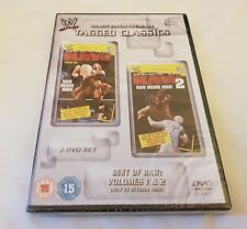 NEW & SEALED WWE Tagged Classics Best of Raw Vol.1-2 DVD 2012