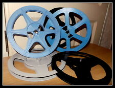 SUPER 8mm 400ft/120m CINE FILM Spool/Reel-Alta Qualità Rocchetti-DERANN