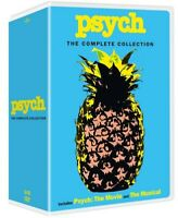 Psych: The Complete Series Collection (32 Disc) DVD NEW