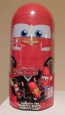 Disney Pixar Cars Mighty Beanz Mighty Tin with TWO Exclusive Beanz