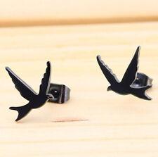 316L Surgical Stainless Steel Ear Stud Earrings Men Women Punk Fashion Jewelry