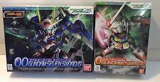 Bandai SD set 0 Gundam type A.C.D. BB#333 00 Gundam Seven Sword/G BB#368 USA
