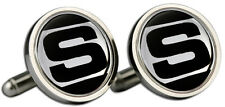 Triumph 2500 'S' Logo Cufflinks and Gift Box
