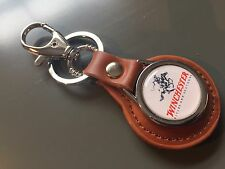 Winchester Repeating Arms  Genuine Leather Keyring