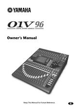 Yamaha 01V96 Mixing Console Owners Manual
