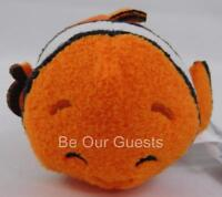 Disney Finding Nemo Dory Clownfish Eyes Closed Tsum Tsum Plush Mini New JcPenney