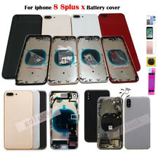 Back For iPhone 8 Plus iPhone X Replacement Housing Battery Cover Frame Assembly
