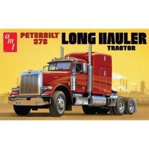 AMT 1169 1/24 Peterbilt 378 Long Hauler Semi Tractor Plastic Model Kit