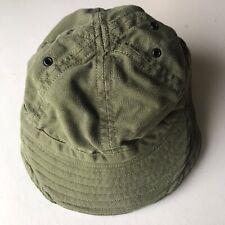 80s 90s CAnadian Forces Bush Hat OG107 Parktown Combat Hat Size 7-1/2 Large