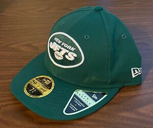 NEW NFL New York Jets new logo New Era 59FIFTY Fitted Cap 5950 Green Hat 7 3/4