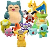 Pokemon Detective Pikachu Charizard Psyduck Mr.Mime Bulbasaur...Plush Doll Toy
