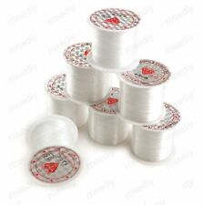 0.25mm Clear Nylon Beading Wire Thread Cord Monofilament Fishing Wire Findings