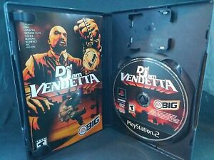 Def Jam Vendetta (PlayStation 2, 2003) RARE Black Label Complete w/ Manual Ps2
