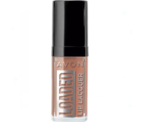 Avon Loaded Lip Lacquer Glossy Colour SHADE: Spread the Nude - FREE Delivery