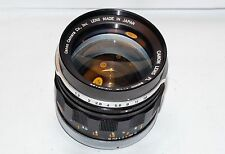 Rare Canon FL 58mm 1:1.2 FAST Prime Portrait lens- suit Nex mirrorless or dSLR