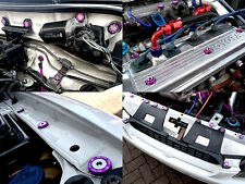 EP91 Toyota Starlet Glanza V Engine Bay Dress-Up Stainless Bolt Washer Kit