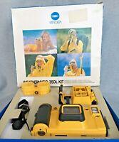 Boxed Minolta Weathermatic 35DL Kit Working Manual Incl. Missing Original Strap