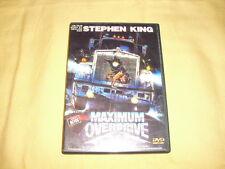 Maximum Overdrive DVD Science-fiction Stephen King Emilio Estevez