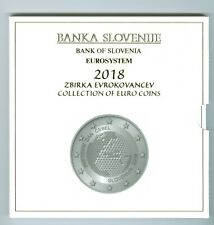 Slowenien  Euro-KMS  2018 (8,88 Euro) PP  Nur 750 Stück!
