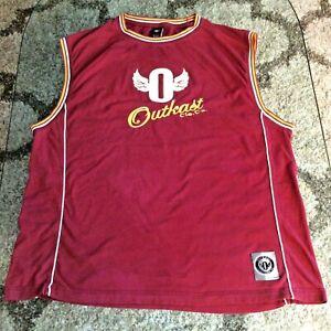 Outkast Clothing Co Basketball Tanktop Sleeveless Shirt Adult Extra Large XL HTF