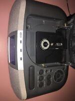 Sony Dream Machine Digital AM/FM CD Player Alarm Clock Radio ICF-CD830 Gray