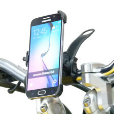 Dedicated Locking Strap Bike Motorcycle Handlebar Mount for Samsung Galaxy S6