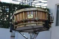 LE Soprano Prima Zebrawood Snare Drum LUXURY Handmade DRUM (ITALY)