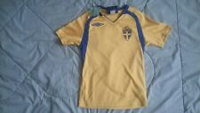 Vintage Swedish National Soccer Football Team Jersey-Size Unk-Umbro