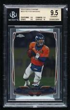 New listing 2014 Topps Chrome Peyton Manning (Orange Jersey) #42.1 BGS 9.5 HOF