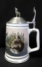 Longton Crown ~ Call of the Wild ~ Stein Tankard ~ Kevin Daniel Timber Wolf Le