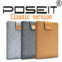"""POSEIT Laptop Notebook Sleeve Case Cover Bag For 11 13 15""""inch Macbook Pro Air"""