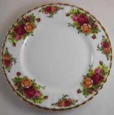 ROYAL ALBERT OLD COUNTRY ROSES SALAD PLATES X 2 FIRST QUALITY
