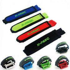 2pc Sport Cycling Bicycle Bike Foot Pedal Straps Fixed Anti-slip Toe Clips