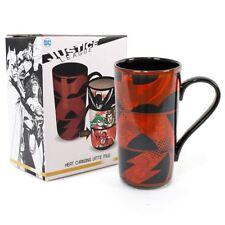 Nueva Dc Liga De La Justicia cambio de calor taza de café con leche Batman Mujer Maravilla Oficial