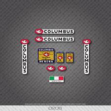 0206 Columbus Extra El Leggeri Bicicletta Derosa Telaio E Forcella Adesivi-Decalcomanie