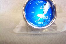 LIVORSI MARINE MONSTER 2 5/8 BLUE FACE TRIM GAUGE MEGA RIM OEM #DCTMMPLPSSMR