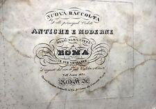 ROMA, colección de principal vistas antigua y moderno dell'ALMA CIUDAD' 1831
